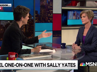 Yates: W.H. knew Flynn under investigation as Trump coaxed Comey