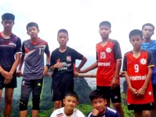 Soccer team in good health after Thailand cave rescue