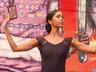 African-American ballerina breaks barriers with Swan Dreams Project