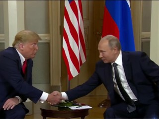Helsinki summit: President Trump backs Putin on election interference