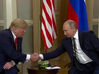 Helsinki summit: President Trump backs Putin on election interference