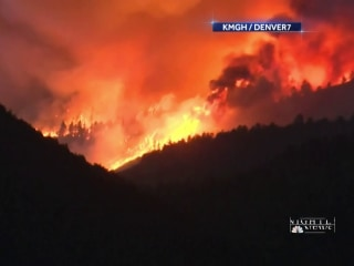Wildfires raging across the West