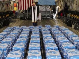 North Korea returns remains of U.S. troops killed in Korean War