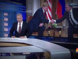 Russian TV praises Putin after Trump meeting