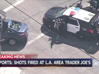 Shots fired at Trader Joe's in Los Angeles