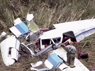 At least 3 dead in midair crash of two planes in Florida Everglades