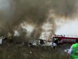 Aeroméxico plane with over 100 aboard crashes in Durango; no deaths reported