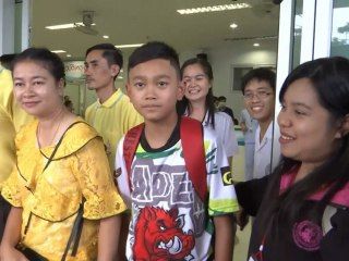 Thai soccer team leaves hospital, heads home to families after odds-defying rescue