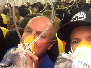 Passengers aboard RyanAir describe terrifying descent after unexpected depressurization