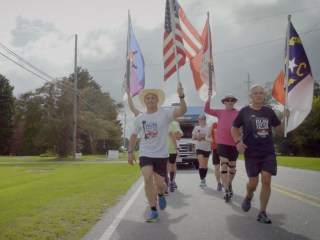 Running to remember: Fallen service members honored with a run across America