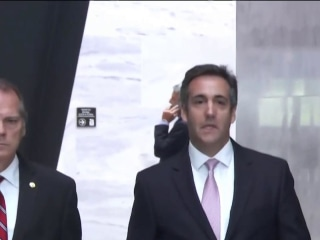 Michael Cohen pleads guilty, says he paid hush money at Trump's direction
