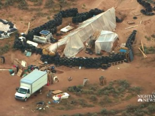 11 children rescued from New Mexico compound after police raid