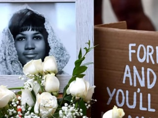 Aretha Franklin remembered in her hometown of Detroit