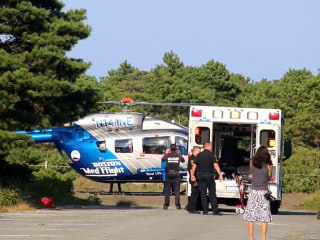 Shark attack on Cape Cod leaves swimmer with puncture wounds