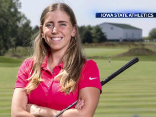 Acclaimed Iowa State golfer found dead, man charged with murder