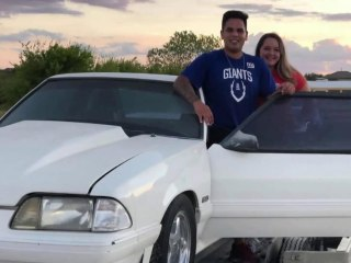 Siblings surprise dad with beloved Mustang he sold to pay medical bills