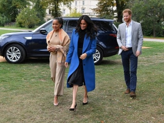 Duchess of Sussex's mother joins her at cookbook launch
