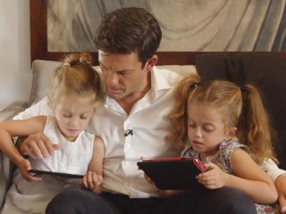 Are iPads bad for kids? Keir Simmons' daughters help investigate