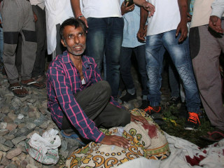 Dozens killed by speeding train in Amritsar, India