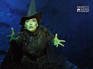 Extended interview: 'Wicked' star on going from finance to Broadway