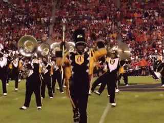Alabama State University's mighty marching band