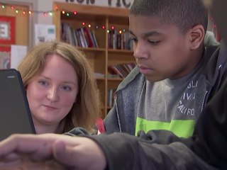 This school partners students and entrepreneurs, giving kids tools to one day run a business