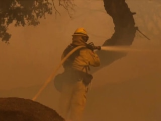 Next generation of firefighters trains to take on growing threat of wildfires