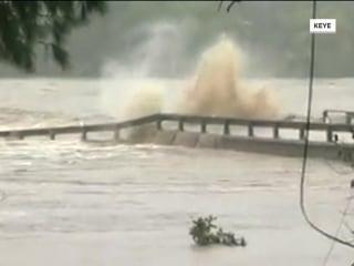 Catastrophic flooding in Texas causes evacuations, bridge destruction