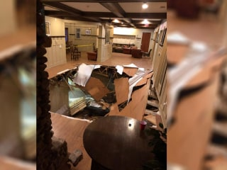 Dozens injured when floor collapses at South Carolina party