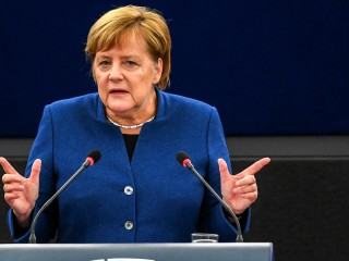 Merkel calls for creation of a 'true European army'