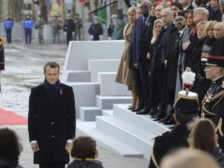 Trump, Macron and world leaders attend the centennial of WWI Armistice