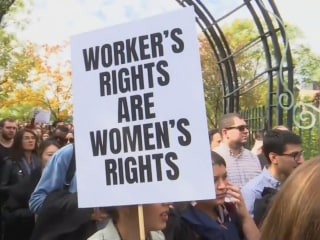 Google employees stage worldwide walkout to protest sexual misconduct