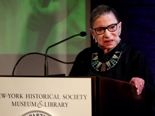 Supreme Court Justice Ruth Bader Ginsburg hospitalized with three broken ribs