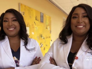 Twin doctors hope to change the face of medicine