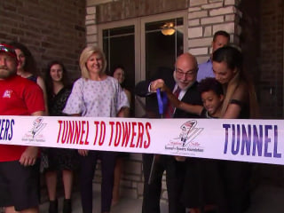 Gold Star family starts new chapter in new home