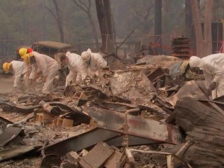 Death toll continues to rise, nearly 300 missing in Northern California Camp Fire