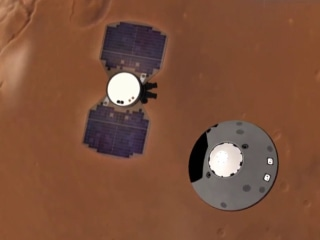 NASA celebrates another historic landing on Mars