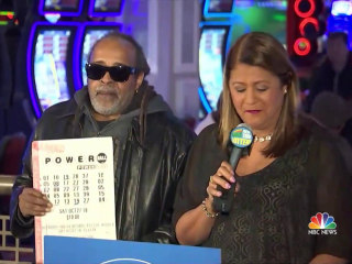 Lottery winner comes forward in New York
