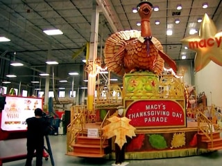 Macy's Thanksgiving Day Parade: Wind gusts could pose risk