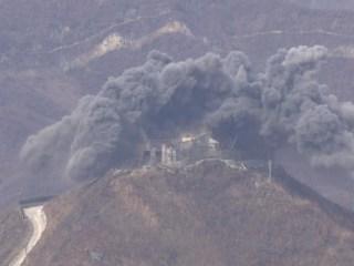 North and South Korean begin removing guard posts at border