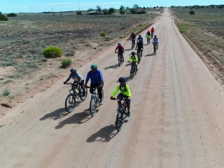 Mountain biking group offers support system to members of the Navajo Nation