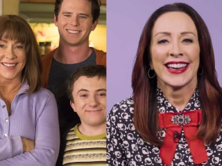 Patricia Heaton says being a TV mom is the opposite of being a real mom