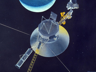 How far into space is NASA's Voyager 2 right now? (Very, very, very far)