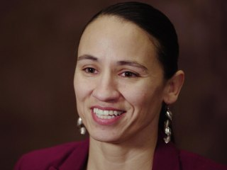 Rep.-elect Sharice Davids, a gay Native American, talks politics, authenticity