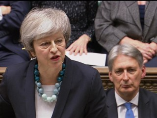 British PM Theresa May explains reasons for Brexit vote postponement
