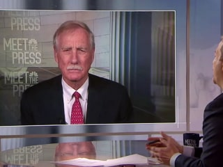 Full Angus King: 'I'm a conservative when it comes to impeachment'