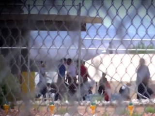 Democratic lawmakers tour migrant facility in Tornillo, Texas