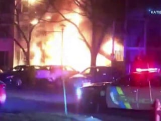 Officers rescues family of 4 from burning New Jersey home