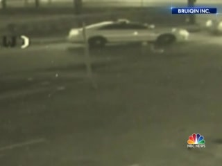 School district police officer hit and run caught on camera
