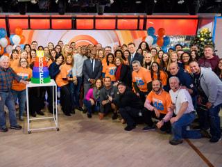 TODAY family celebrates Al Roker's 40th anniversary at NBC